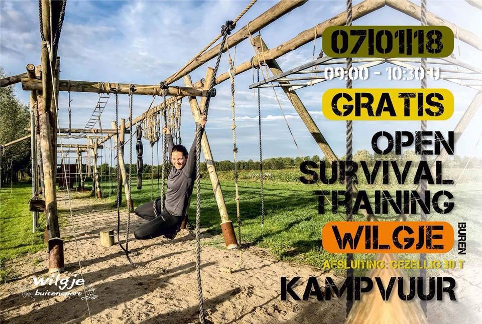 Open Survival Training Bij T Wilgje
